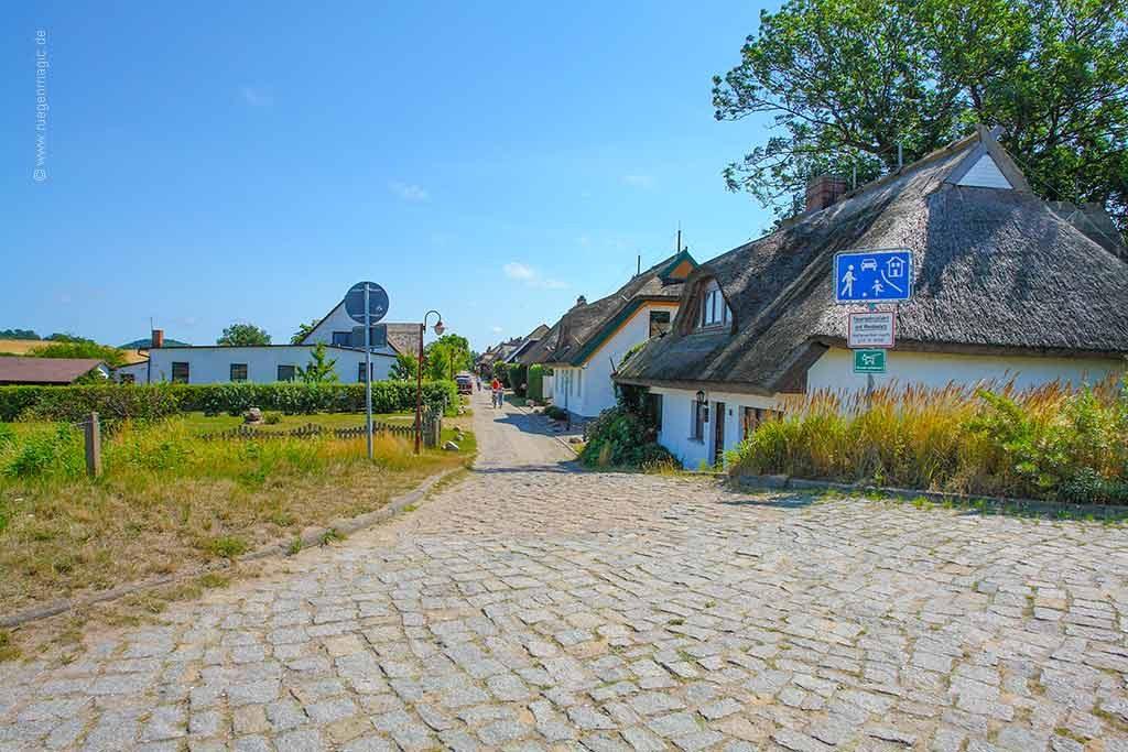 das Umfeld: das Fischerdorf Neu Reddevitz